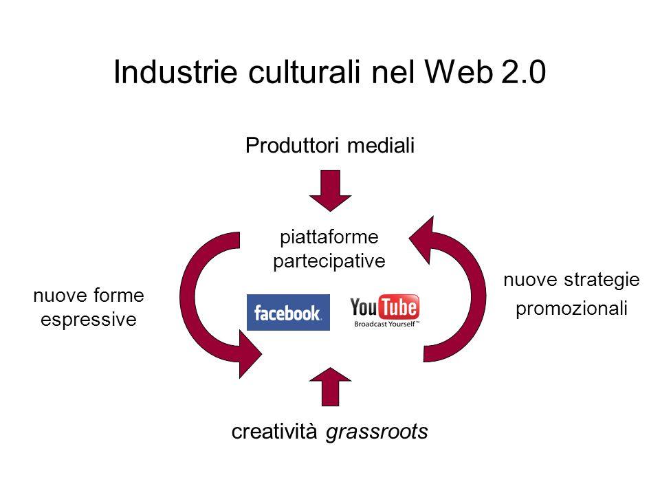 Industrie culturali nel Web 2.0