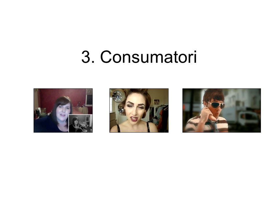 3. Consumatori