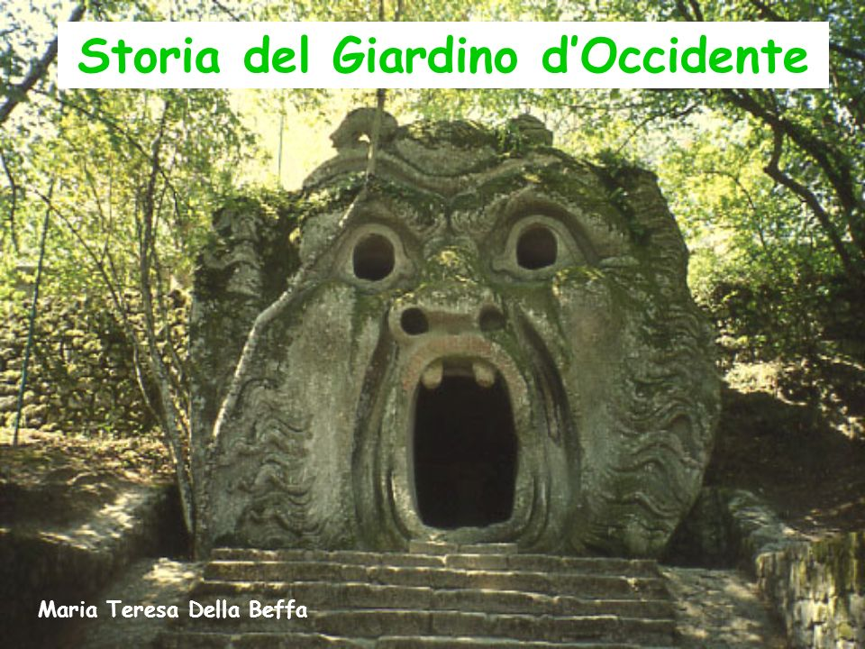 Storia del Giardino d'Occidente