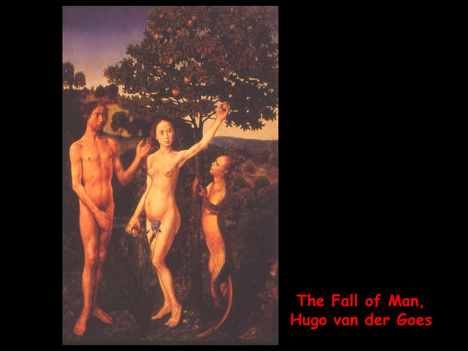 The Fall of Man, Hugo van der Goes