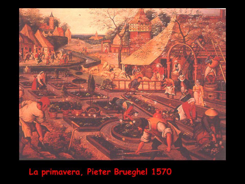 La primavera, Pieter Brueghel 1570