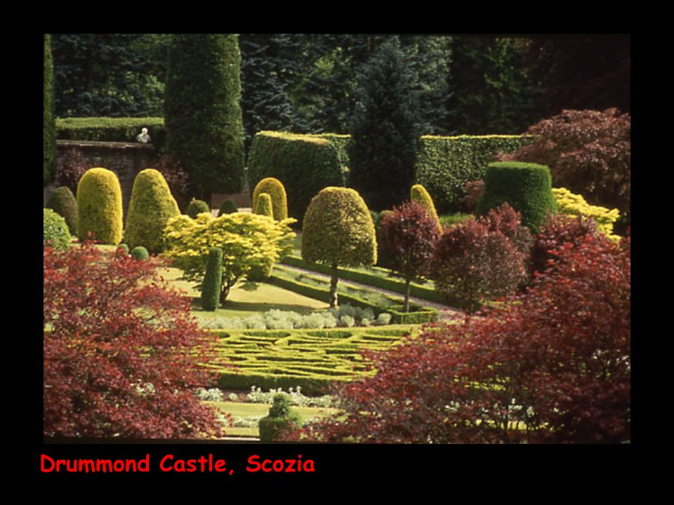 Drummond Castle, Scozia