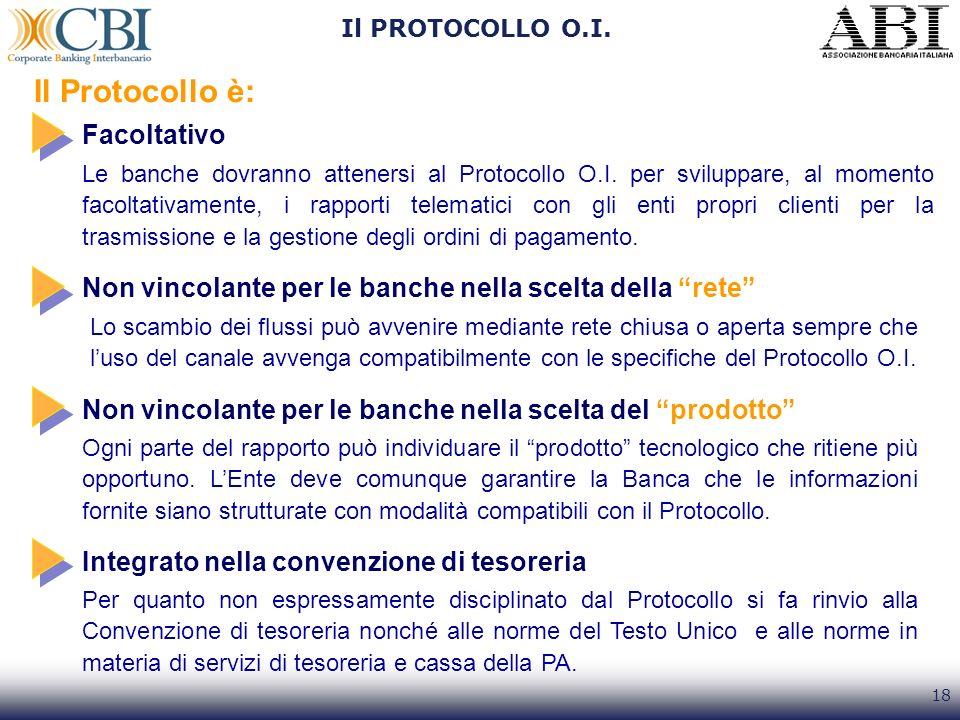 Il Protocollo è: Facoltativo
