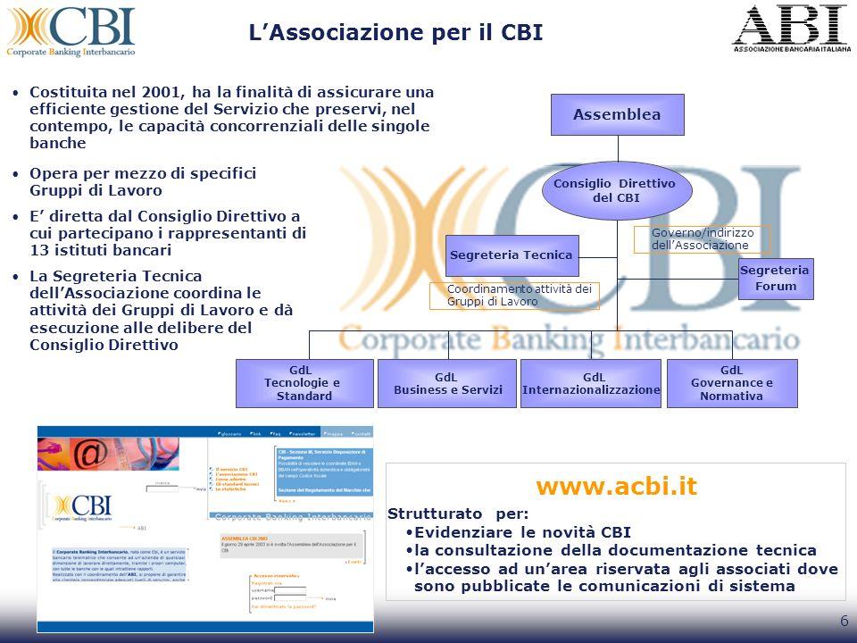 L'Associazione per il CBI
