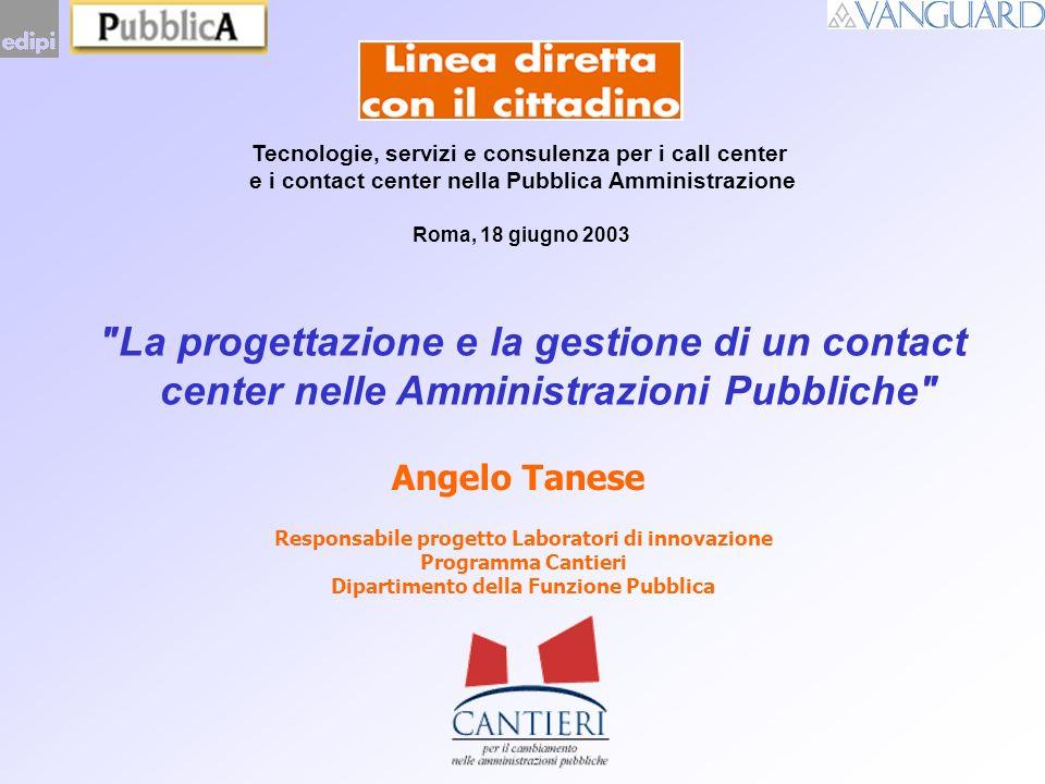 Tecnologie, servizi e consulenza per i call center