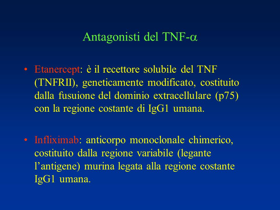 Antagonisti del TNF-