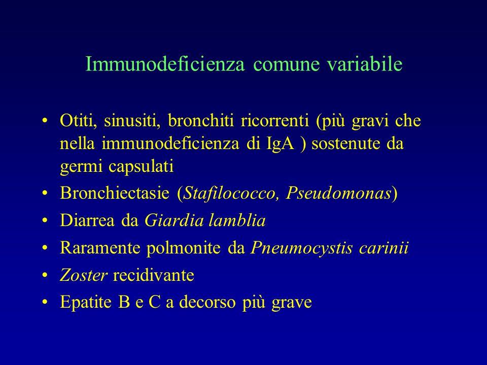 Immunodeficienza comune variabile