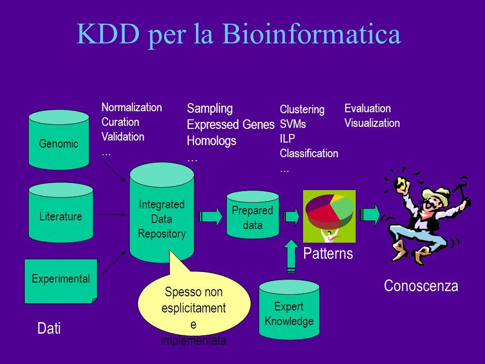 KDD per la Bioinformatica