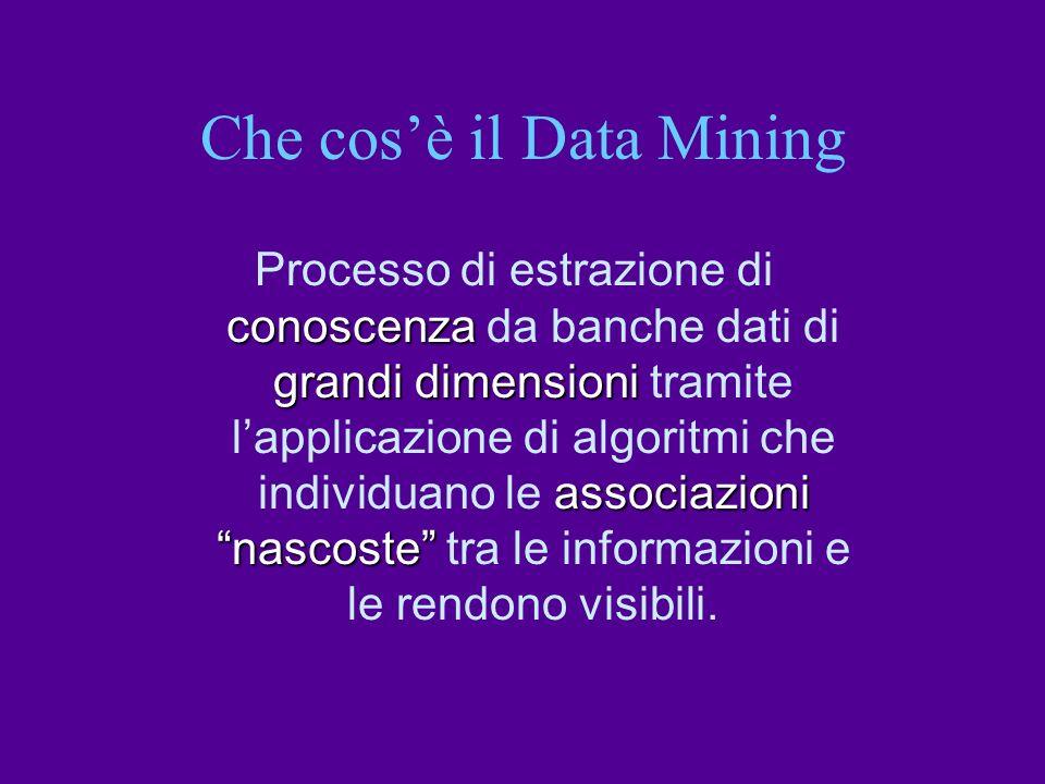 Che cos'è il Data Mining