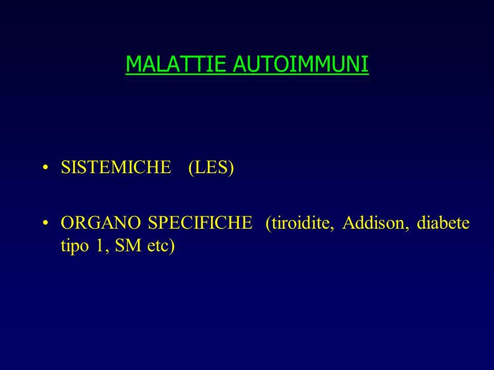 MALATTIE AUTOIMMUNI SISTEMICHE (LES)