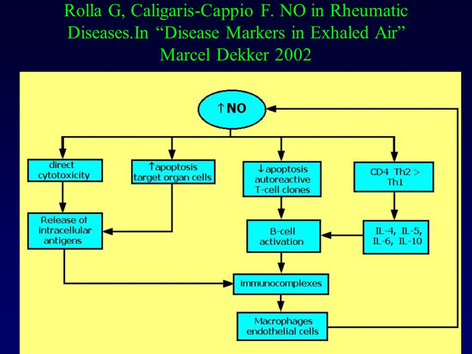 Rolla G, Caligaris-Cappio F. NO in Rheumatic Diseases