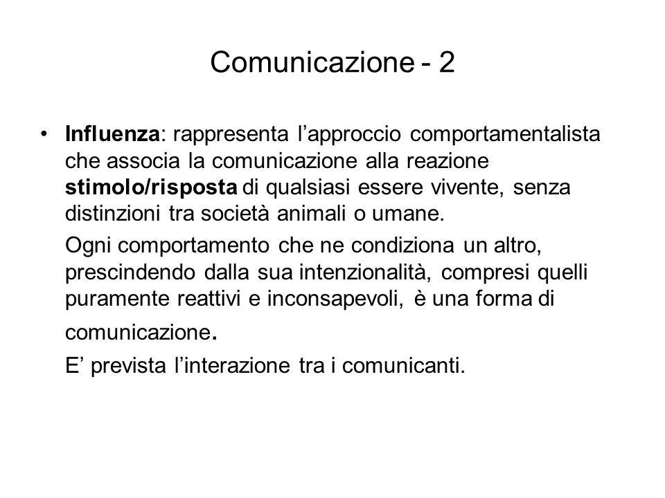 Comunicazione - 2