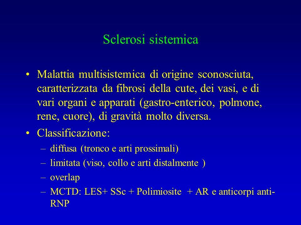 Sclerosi sistemica