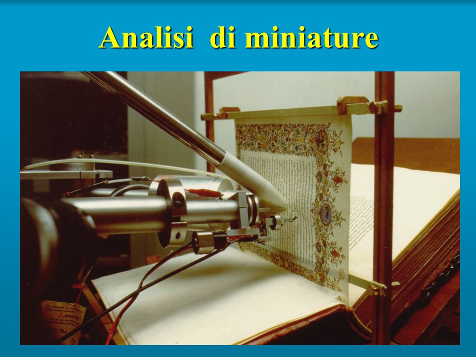 Analisi di miniature