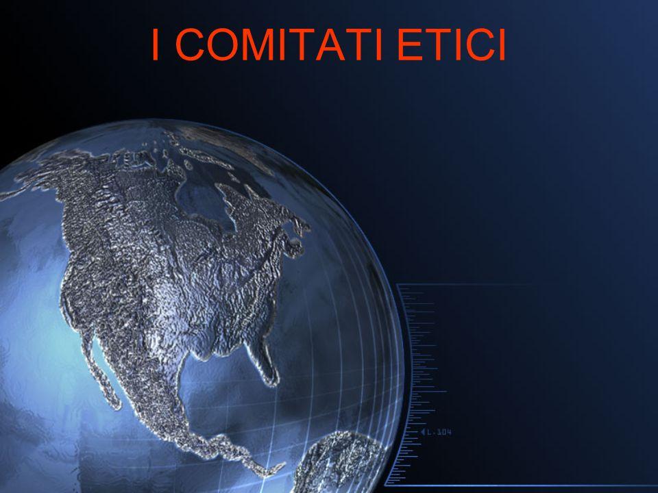I COMITATI ETICI