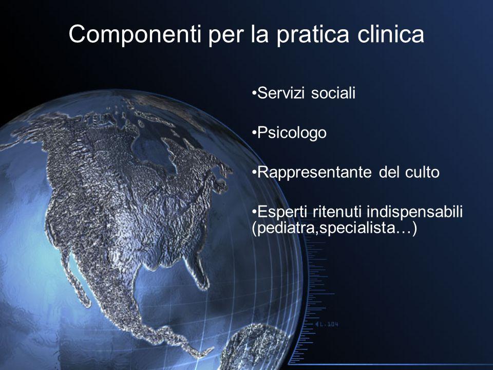 Componenti per la pratica clinica