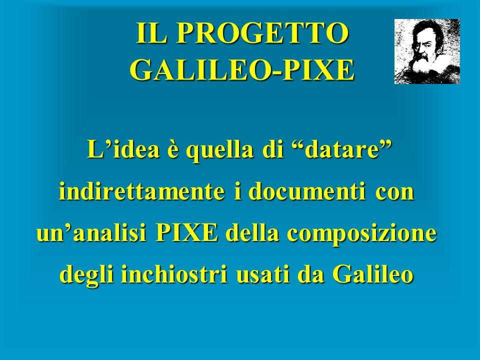 IL PROGETTO GALILEO-PIXE