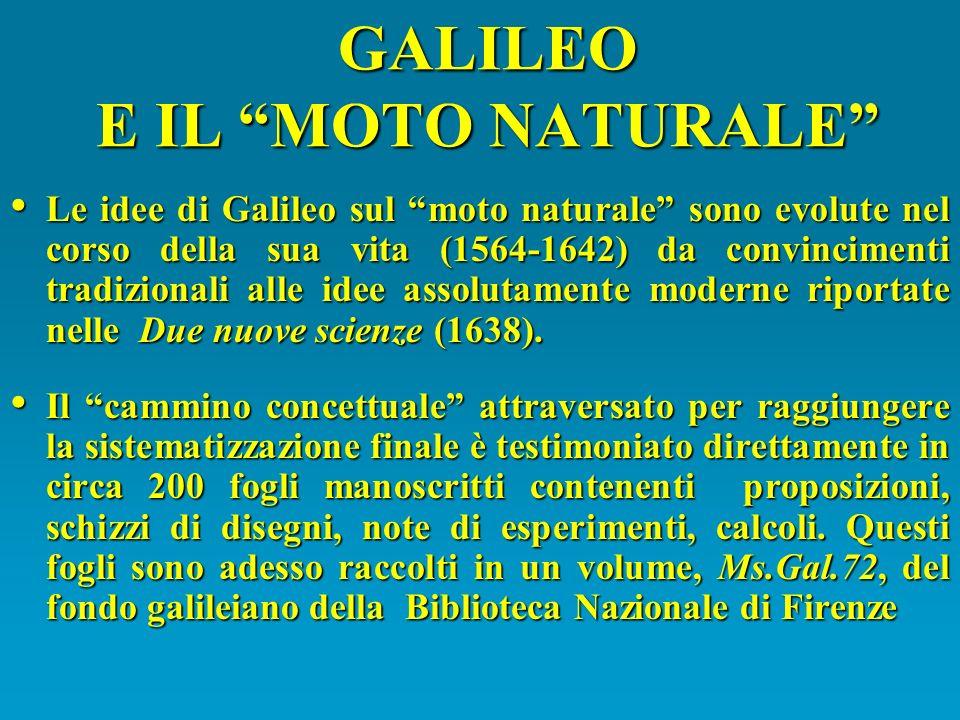 GALILEO E IL MOTO NATURALE