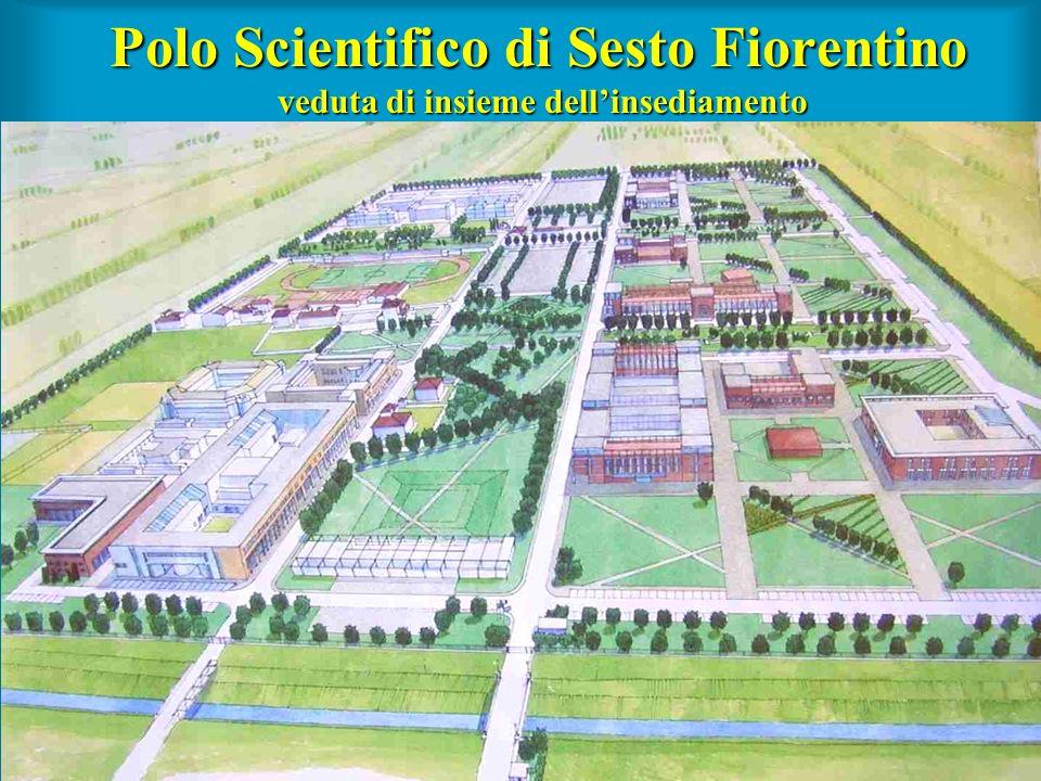 Polo Scientifico di Sesto Fiorentino veduta di insieme dell'insediamento