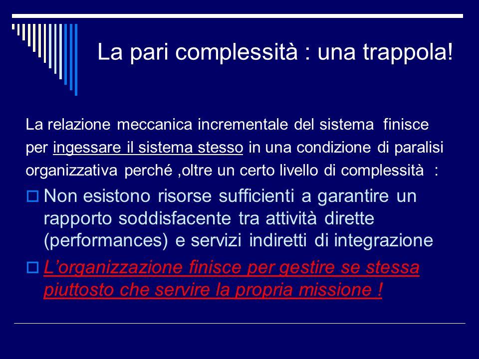 La pari complessità : una trappola!