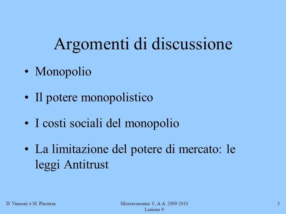 Argomenti di discussione
