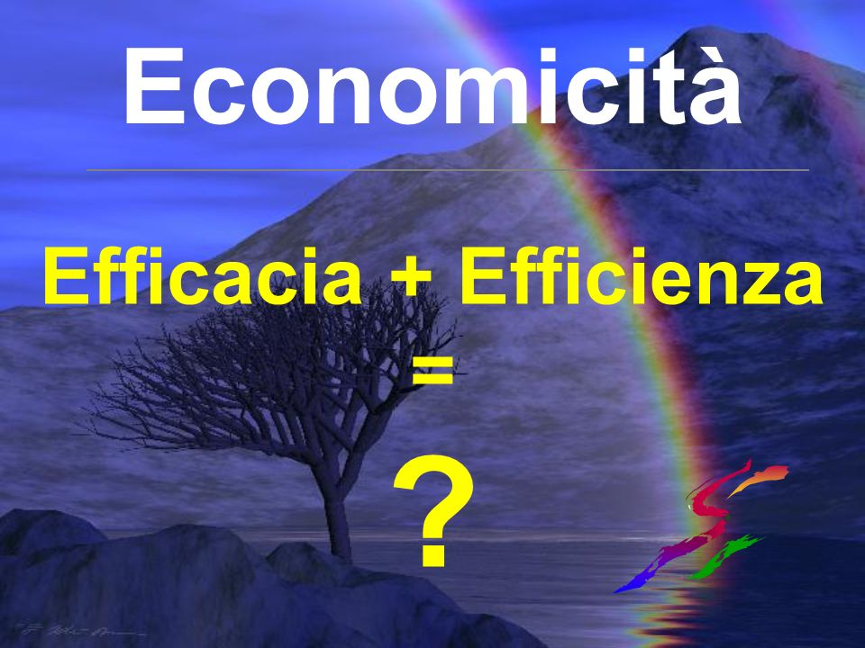 Efficacia + Efficienza