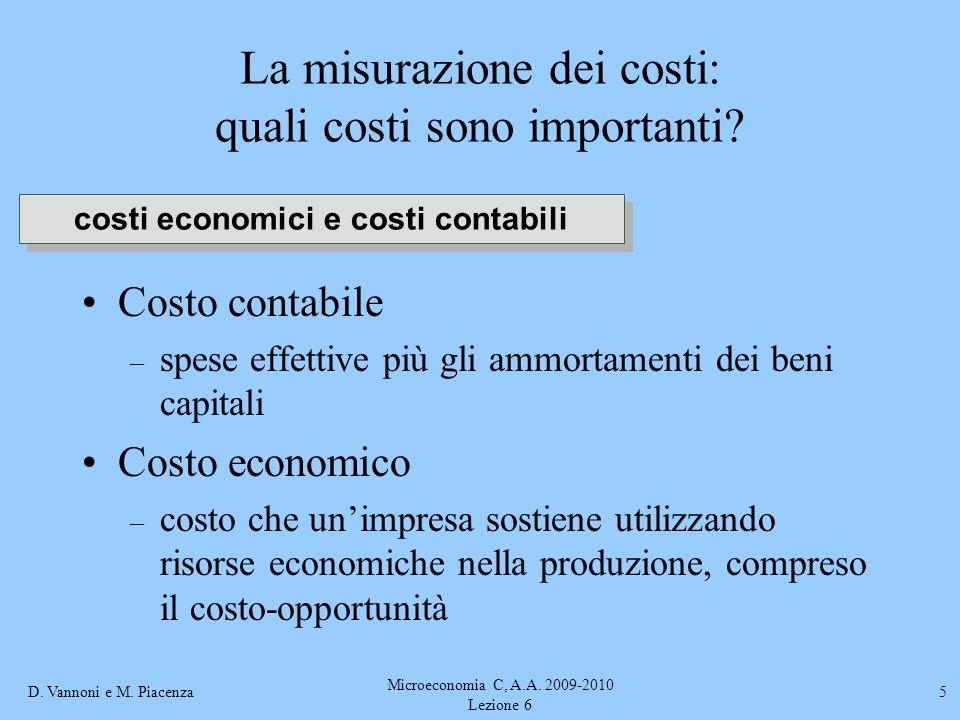 La misurazione dei costi: quali costi sono importanti