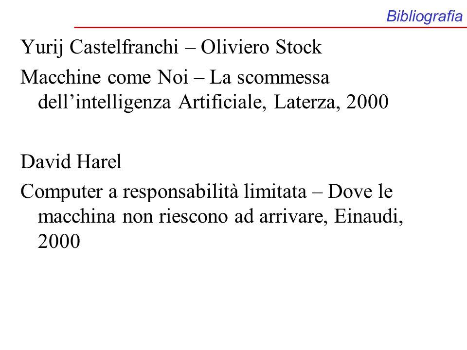Yurij Castelfranchi – Oliviero Stock