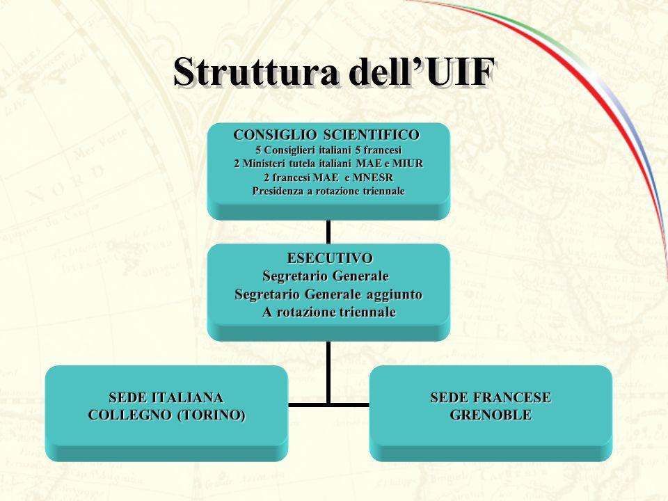 Struttura dell'UIF