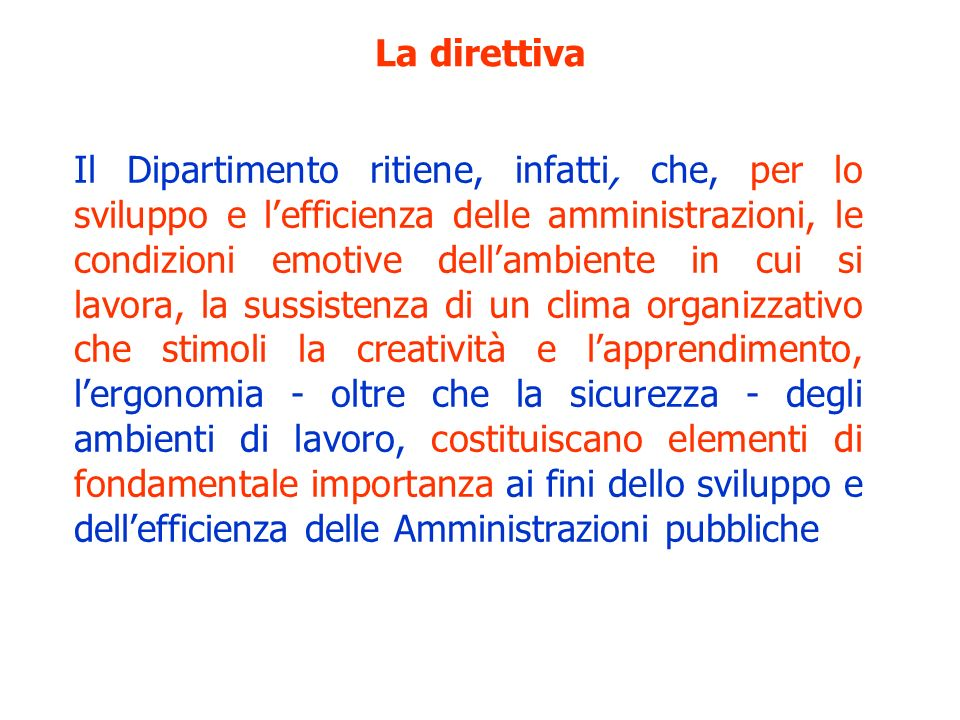 La direttiva