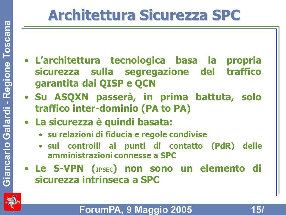 Architettura Sicurezza SPC