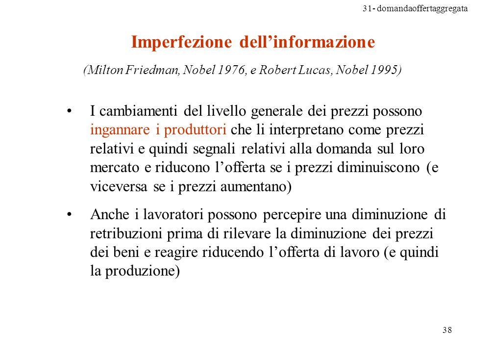 Imperfezione dell'informazione