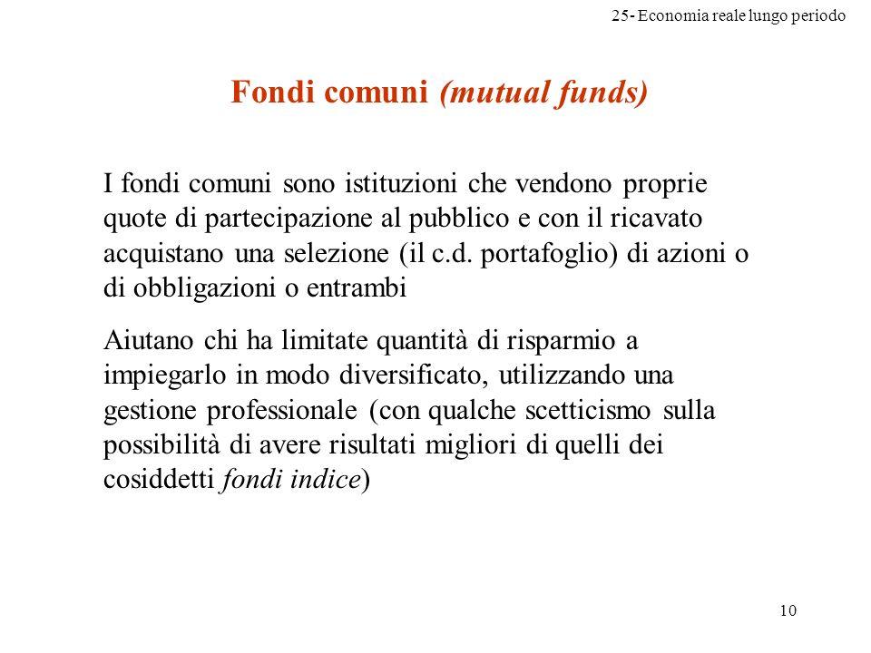 Fondi comuni (mutual funds)