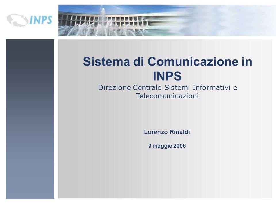Sistema di Comunicazione in INPS