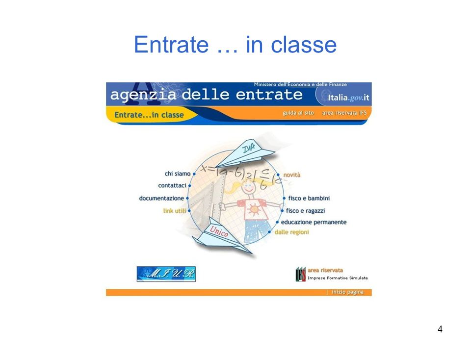 Entrate … in classe