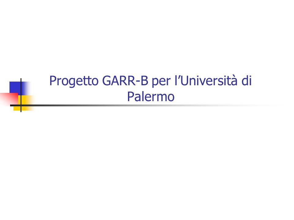 Progetto GARR-B per l'Università di Palermo