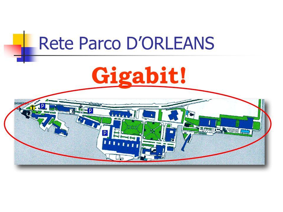 Rete Parco D'ORLEANS Gigabit!