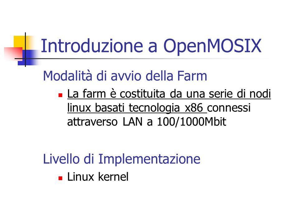 Introduzione a OpenMOSIX