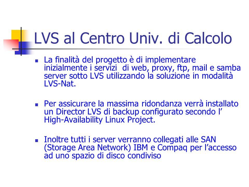 LVS al Centro Univ. di Calcolo