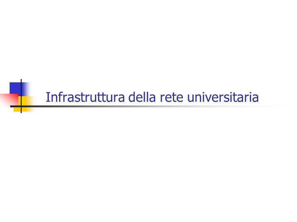 Infrastruttura della rete universitaria