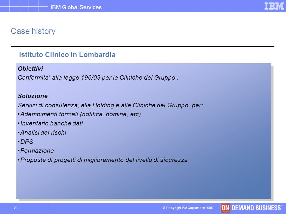 Istituto Clinico in Lombardia