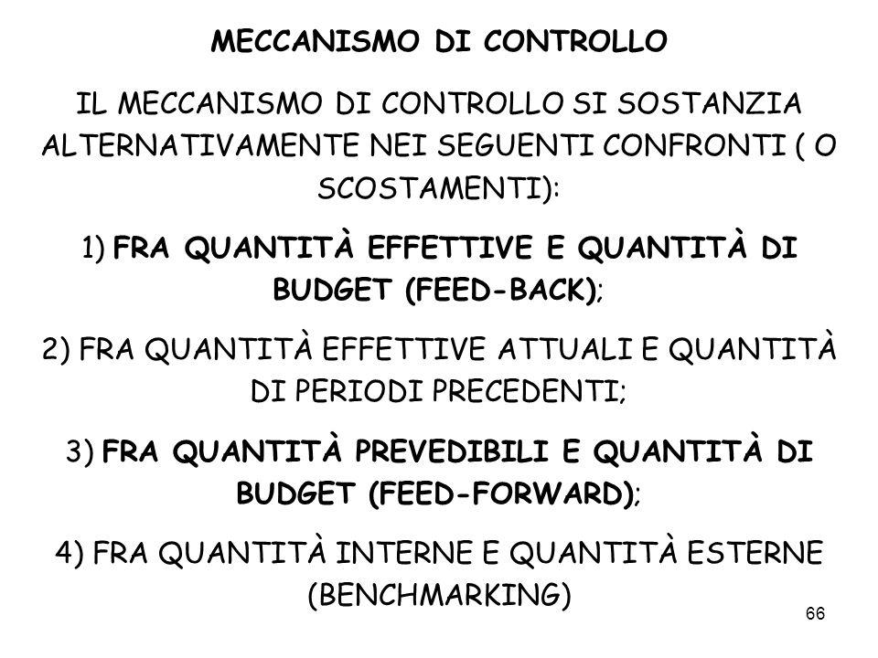 MECCANISMO DI CONTROLLO