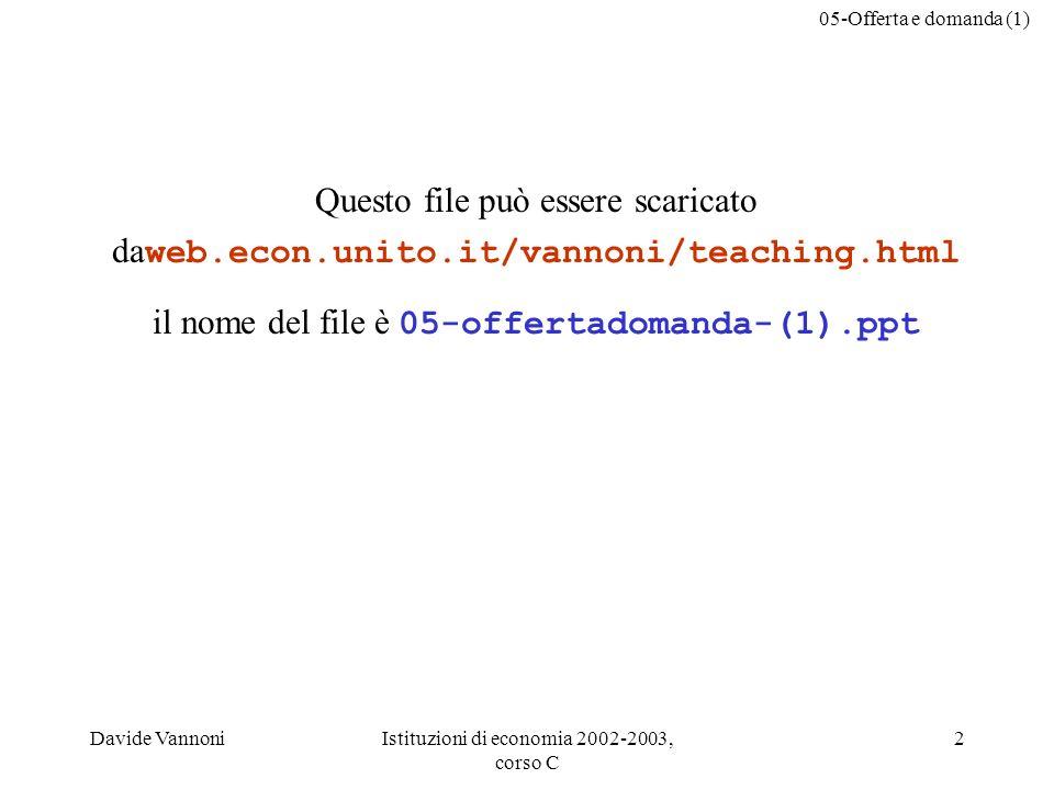 il nome del file è 05-offertadomanda-(1).ppt