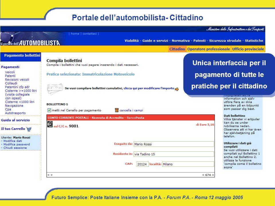 Portale dell'automobilista- Cittadino