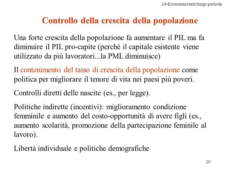 Controllo della crescita della popolazione