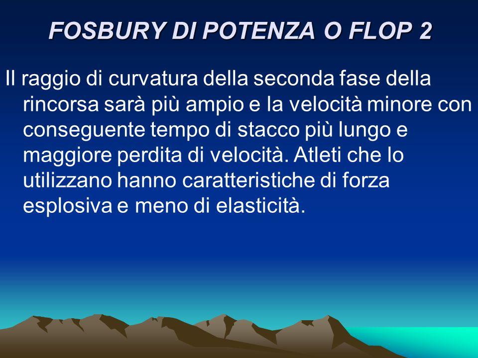 FOSBURY DI POTENZA O FLOP 2