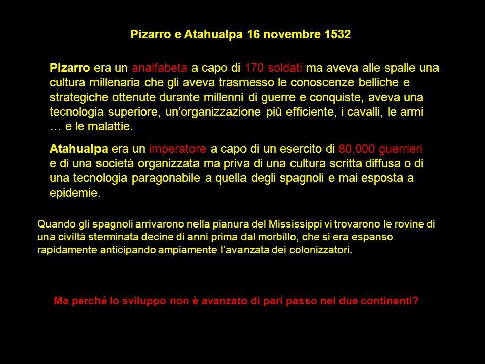 Pizarro e Atahualpa 16 novembre 1532