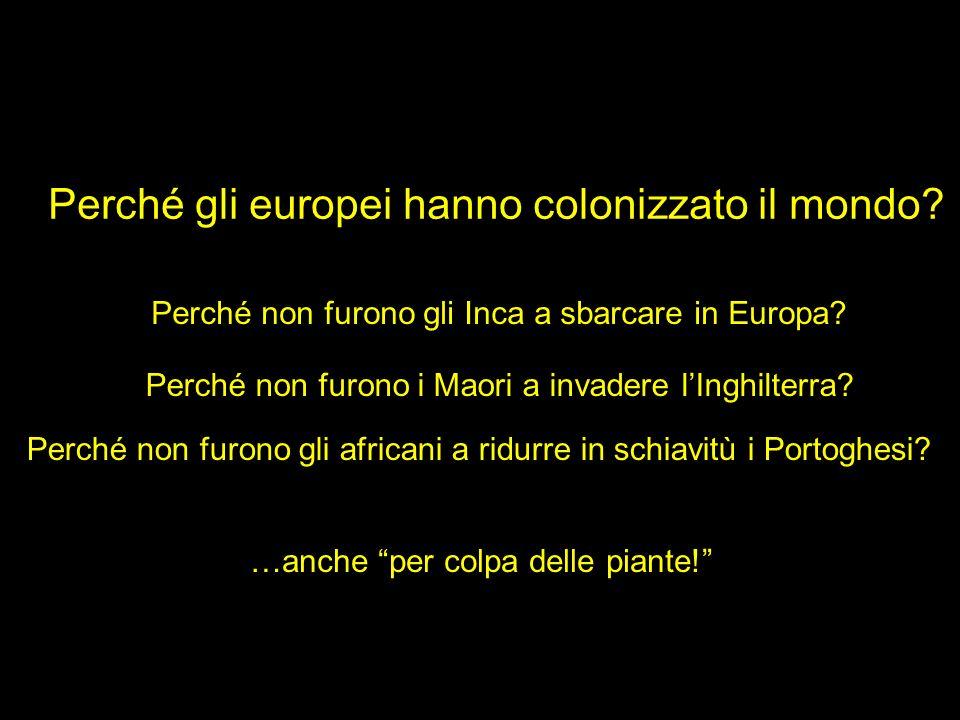 Perché gli europei hanno colonizzato il mondo