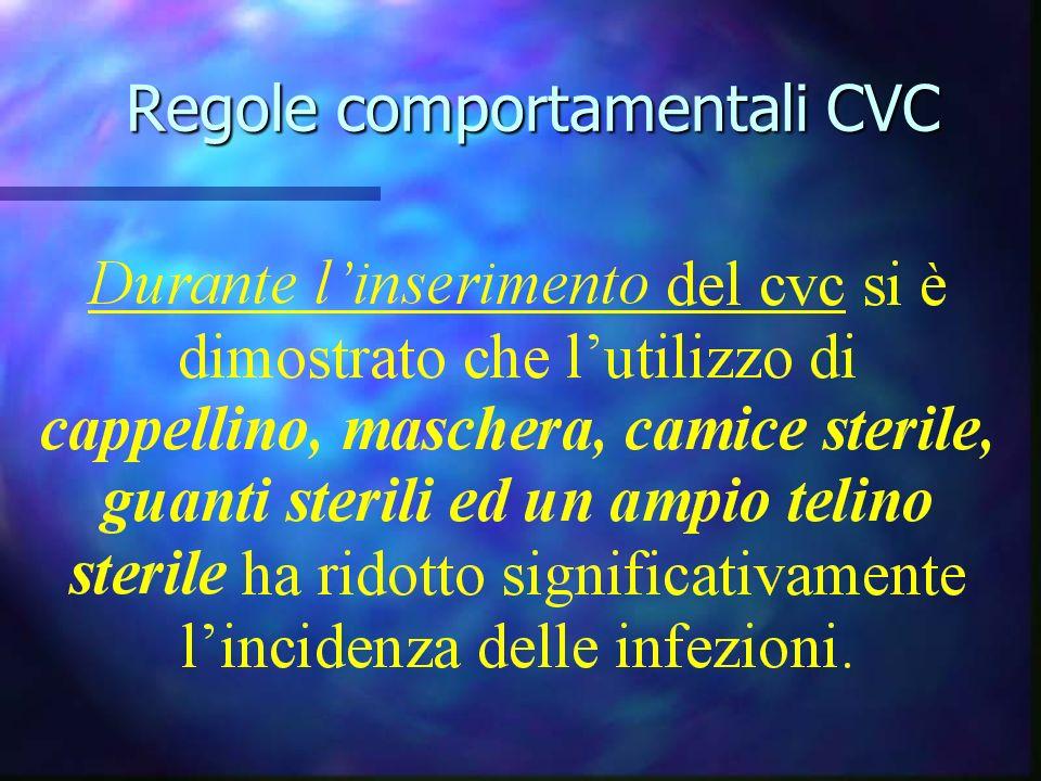 Regole comportamentali CVC