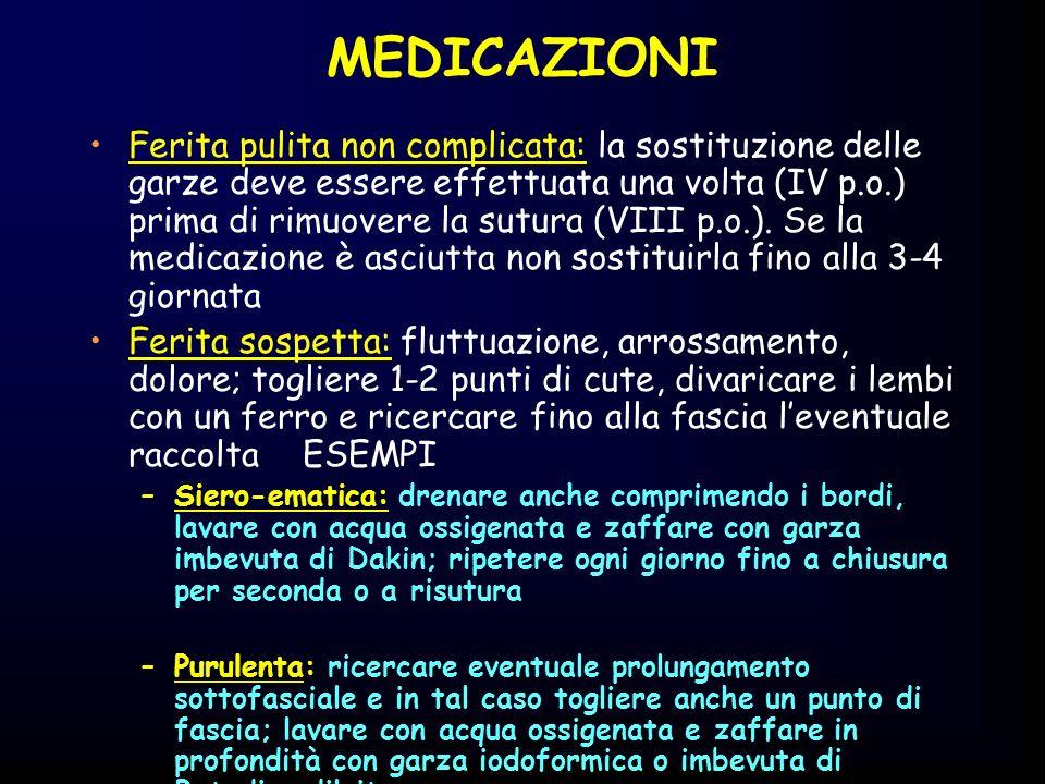 MEDICAZIONI